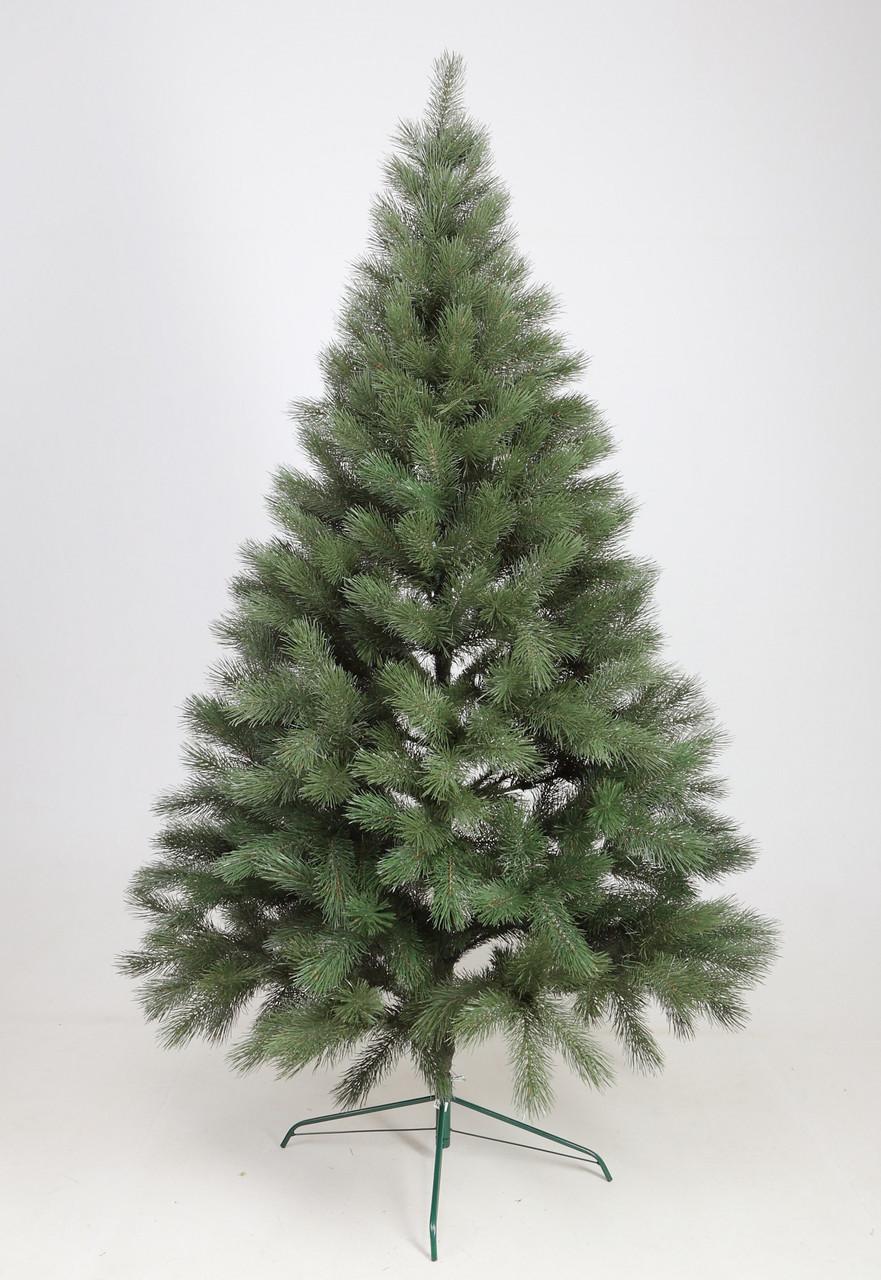 Сосна литая Царская искусственная 2.3м | Новогодняя пушистая елка сосна металл