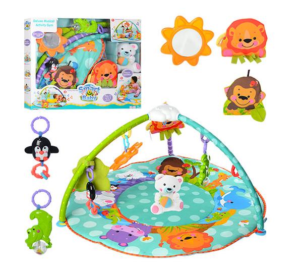 Развивающий коврик для младенца Игровой коврик для ребенка с рождения
