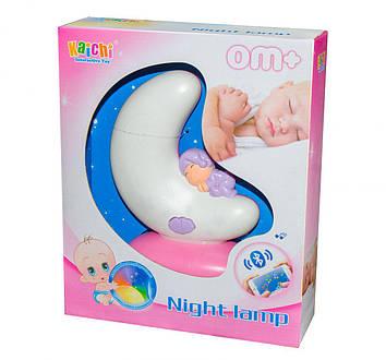 """Ночник Kaichi Месяц"""" Розовый Детский светильник ночник Светильники для детской Ночник ребенку"""