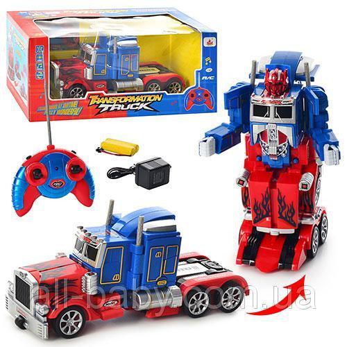 """Робот-трансформер """"Оптимус прайм"""" Робот на радиоуправлении Робот на батарейках Детский робот"""