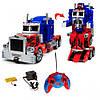 """Робот-трансформер """"Оптимус прайм"""" Робот на радиоуправлении Робот на батарейках Детский робот, фото 3"""