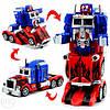"""Робот-трансформер """"Оптимус прайм"""" Робот на радиоуправлении Робот на батарейках Детский робот, фото 5"""