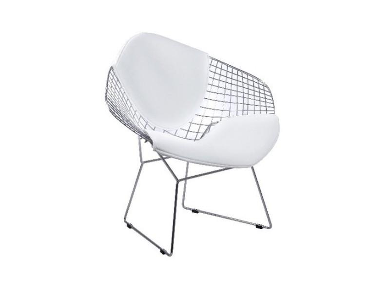 Кресло Signal Newton / Белый / Хром NEWTONCHB