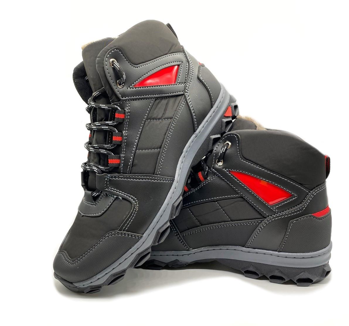 Мужские ботинки зимние прошитые на меху 41 размер
