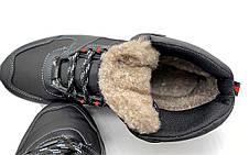 Мужские ботинки зимние прошитые на меху 41 размер, фото 3