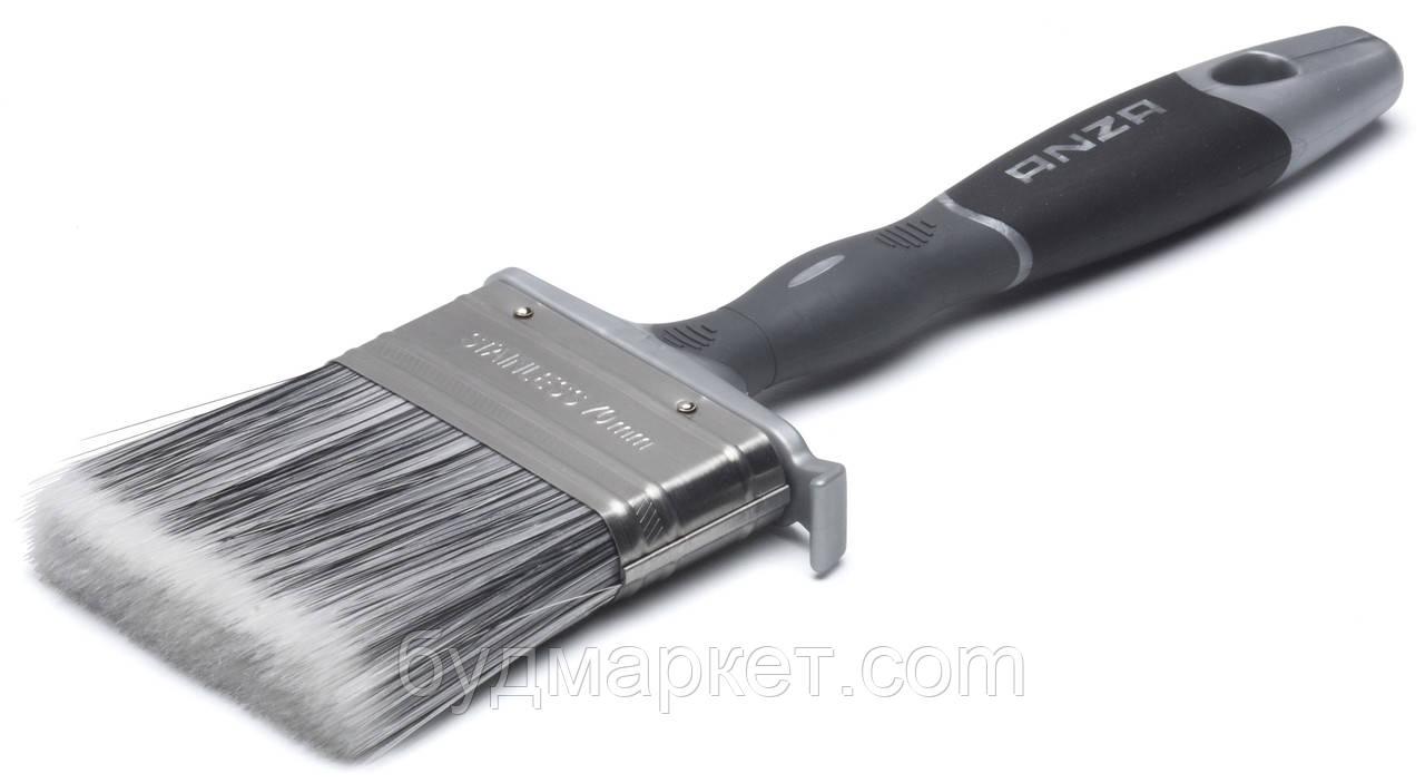 Кисть ANZA Platinum плоска, 35 мм