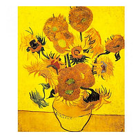 "Картина раскраска по номерам ""Желтые цветы"", 40х50см. №30484"