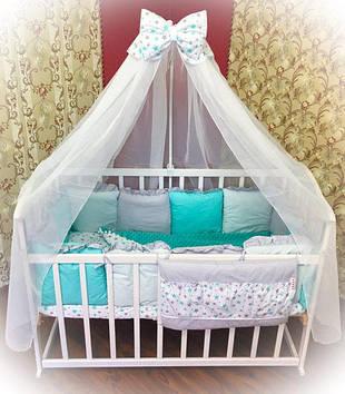 Детское постельное бельё Комплект постельного белья для детской люльки