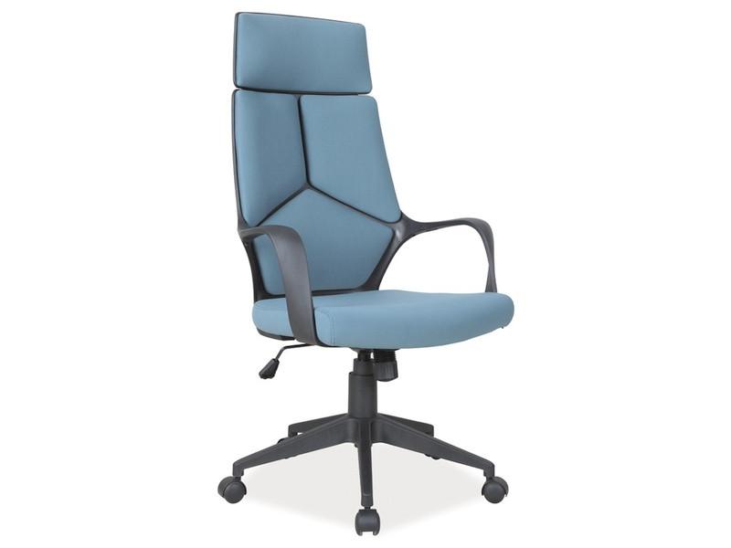 Кресло поворотное Signal Q-199 Стул офисный Q-199 - черный / синий