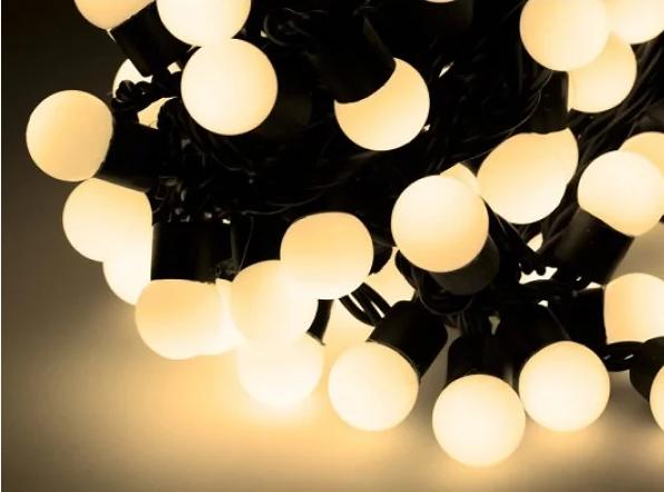 Гирлянда светодиодная Xmas LED 100 WW-6-2 Теплый белый