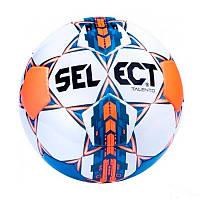 Мяч футбольный SELECT TALENTO (белый-синий-оранжевый)