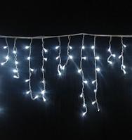 Гирлянда бахрома 120LED 4м Белый RD-7083 белый провод | Новогодняя светодиодная гирлянда уличная, фото 1