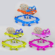 Ходунки (3 цвета, музыкальная панель) Детские ходунки Ходунки для детей Ходунки для малышей