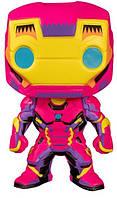 Funko Коллекционная фигурка funko pop! marvel: black light: iron man