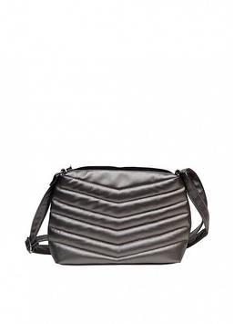 Сумка кроссбоди серебряная сумка через плечо Сумка через плечо женская Женская сумка Сумка для девушки Сумочка