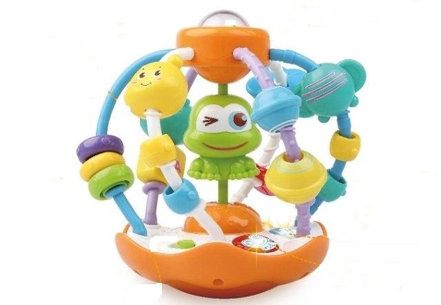Развивающая игрушка-погремушка для ребенка Потеша Детская логическая игрушка Логическая игрушка для детей