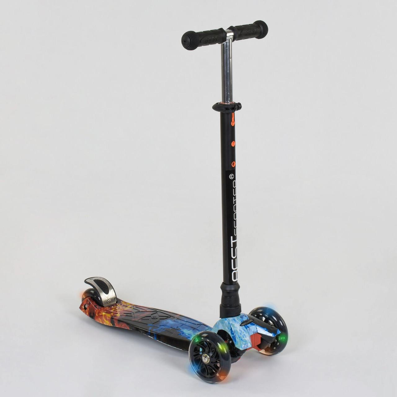 Самокат-кикборд Best Scooter Maxi А 24665 /779-1314