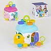 Домик-сортер Детский сортер Игрушка сортер Сортер для детей, фото 2