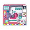 Детская мини швейная машина с нитками в наборе и автоматической педалью Детская мини швейная машина для детей, фото 2