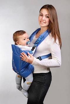 Рюкзак-кенгуру с ортопедической вставкой под спинку Кенгуру-рюкзак для малыша Эргорюкзак для деток от 3-х мес