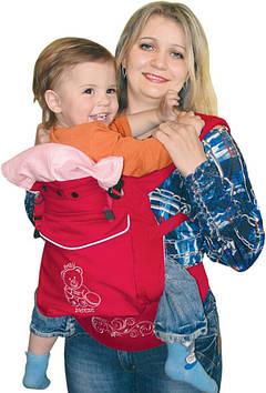 Эрго-рюкзак для деток от 3-х мес  Рюкзак-кенгуру их хлопка Переноска-кенгуру для ребенка Эрго-рюкзак