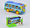 Музыкальная игрушка Автобус 908, песня на английском языке, подсветка фар, фото 2