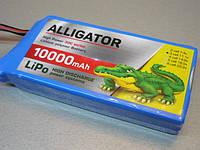 Аккумулятор LiPo 3S 10000мА 30С 11.1 v акумулятор Литий полимер липо Высокотовый для карпового кораблика