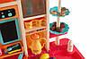 Детская кухня  вода, свет, звук, 65 предметов (высота 94 см) Детская кухня с посудой Игрушечная кухня, фото 3