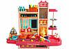 Детская кухня  вода, свет, звук, 65 предметов (высота 94 см) Детская кухня с посудой Игрушечная кухня, фото 8