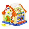 Музыкальная игрушка сортер Теремок со звуковыми и световыми эффектами Развивающая игрушка для детей, фото 2