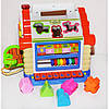 Музыкальная игрушка сортер Теремок со звуковыми и световыми эффектами Развивающая игрушка для детей, фото 4