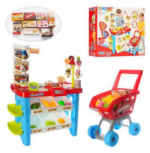 Игровой набор супермаркет Детский магазин Игрушечный супермаркет Игрушечный магазин Детский супермаркет