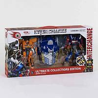 Игровой набор трансформеров с аксессуарами Игрушки-трансформеры Игрушка робот-трансформер