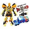 Игровой набор трансформеров с аксессуарами (2 робота в наборе) Игрушки-трансформеры Игрушка робот-трансформер, фото 2
