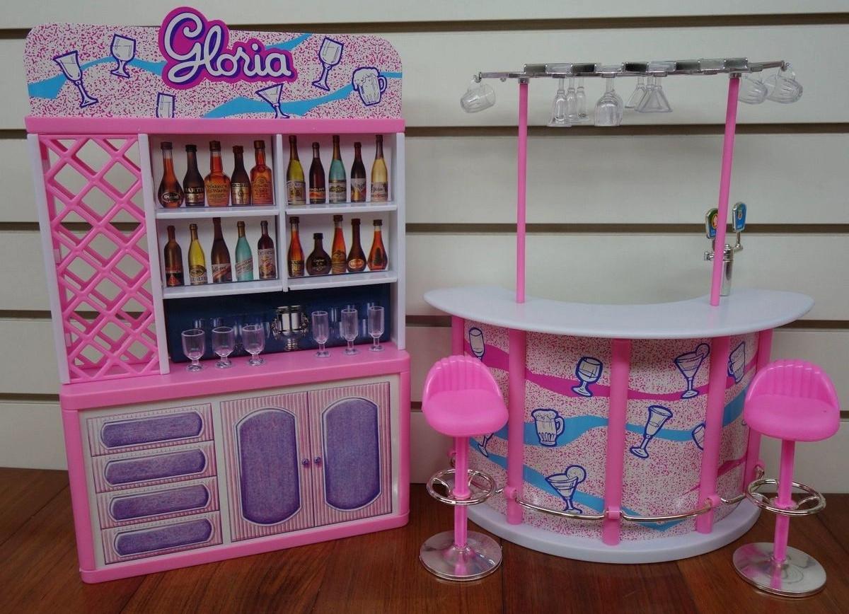 """Мебель детская """"Барная стойка"""" Игрушечная мебель Детская игрушечная мебель Игровой набор мебели для кукол"""