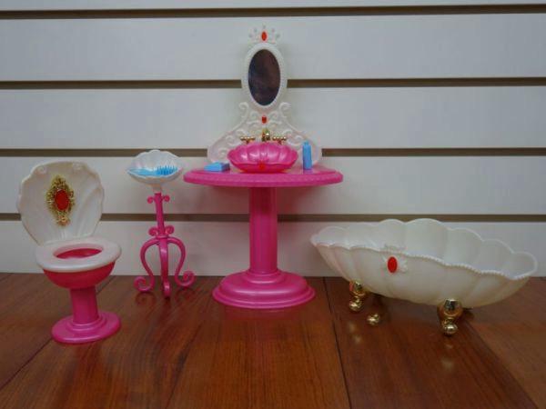 """Мебель Gloria """"Ванная комната"""" Игрушечная мебель Детская игрушечная мебель Мебель игрушечная для детей"""