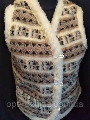 Меховая жилетка для женщин