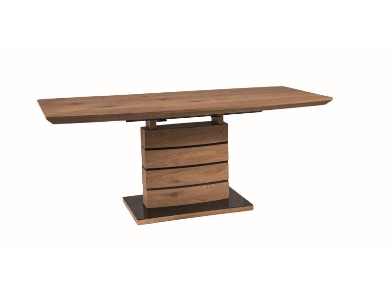 Стол обеденный Signal Leonardo / 140х80 / Дуб LEONARDODD140