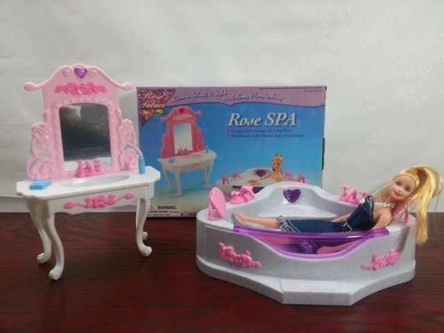 """Игрушечная мебель """"Ванная комната"""" Игрушечная мебель Детская игрушечная мебель Мебель игрушечная для детей"""