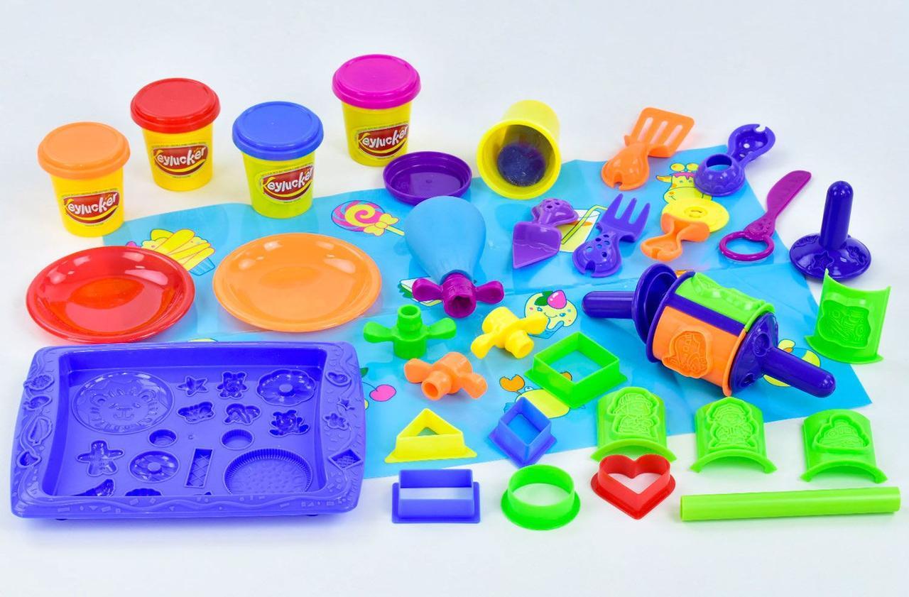 Детский пластилин Набор для лепки Тесто пластилин Набор для лепки из теста Тесто для лепки