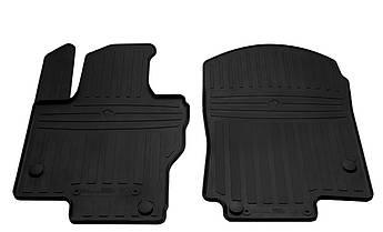 Коврики в салон резиновые передние для  MERCEDES BENZ X167 GLS  2019- Stingray (2шт)