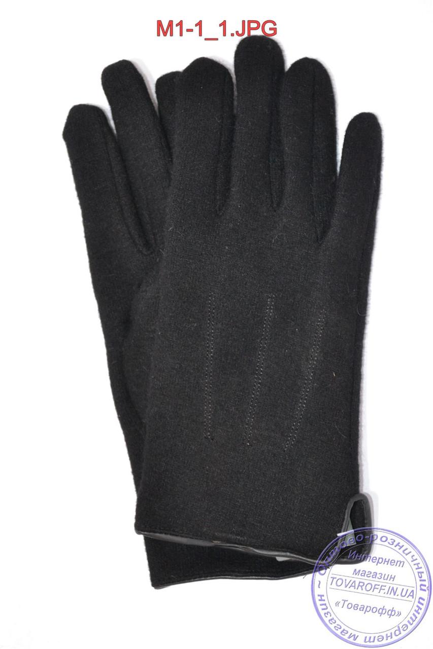 Мужские кашемировые перчатки без подкладки - M1-1
