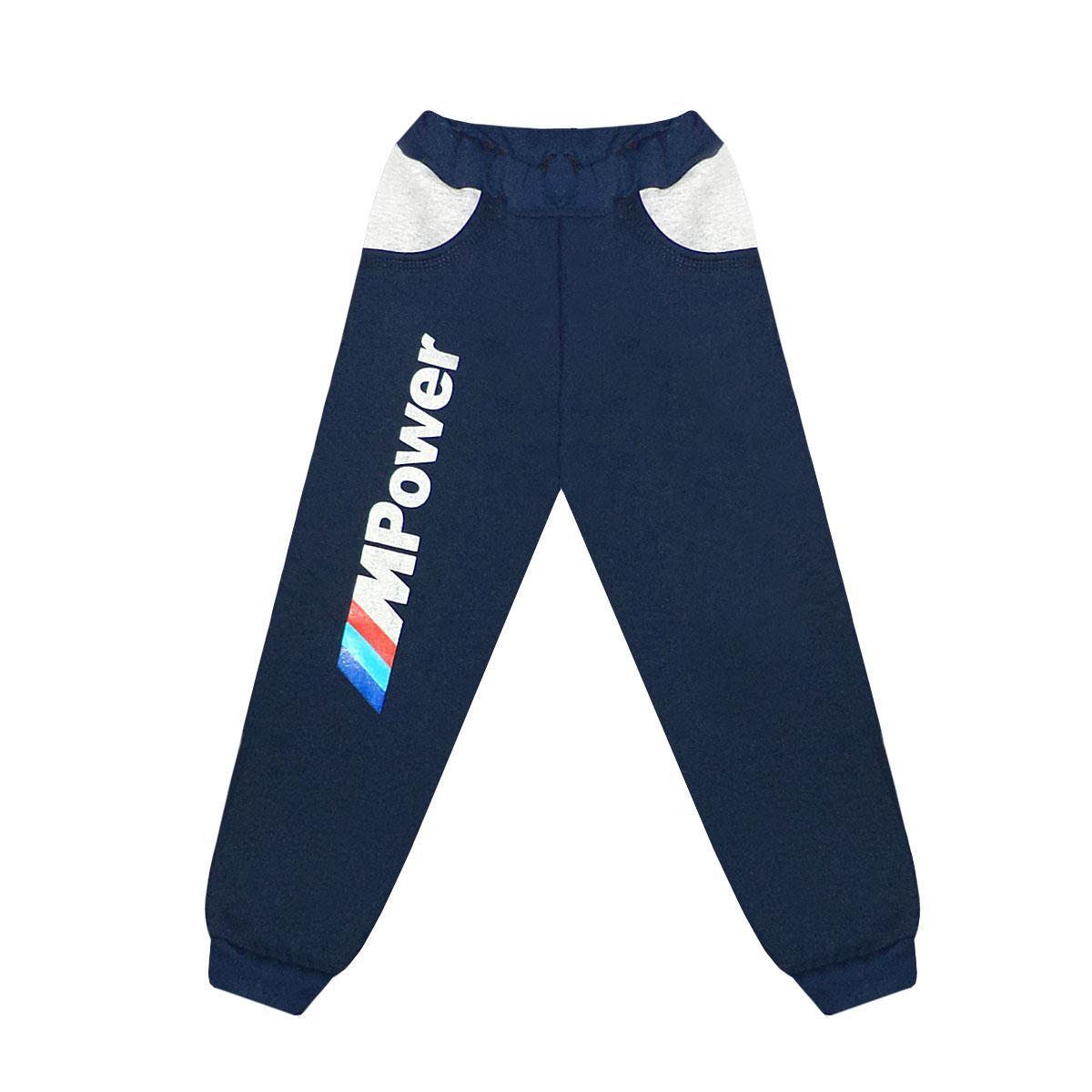 Тёплые спортивные штаны для мальчика трехнитка