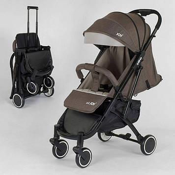 Коляска прогулочная детская  Коричневая детская коляска Коляска детская прогулка Прогулочная коляска
