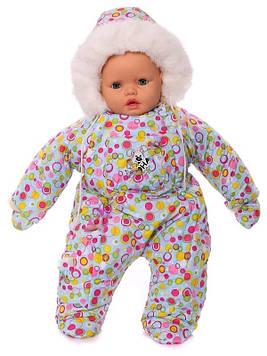 Зимний комбинезон для новорожденных (0-6 месяцев) Комбинезоны для новорожденных для младенца