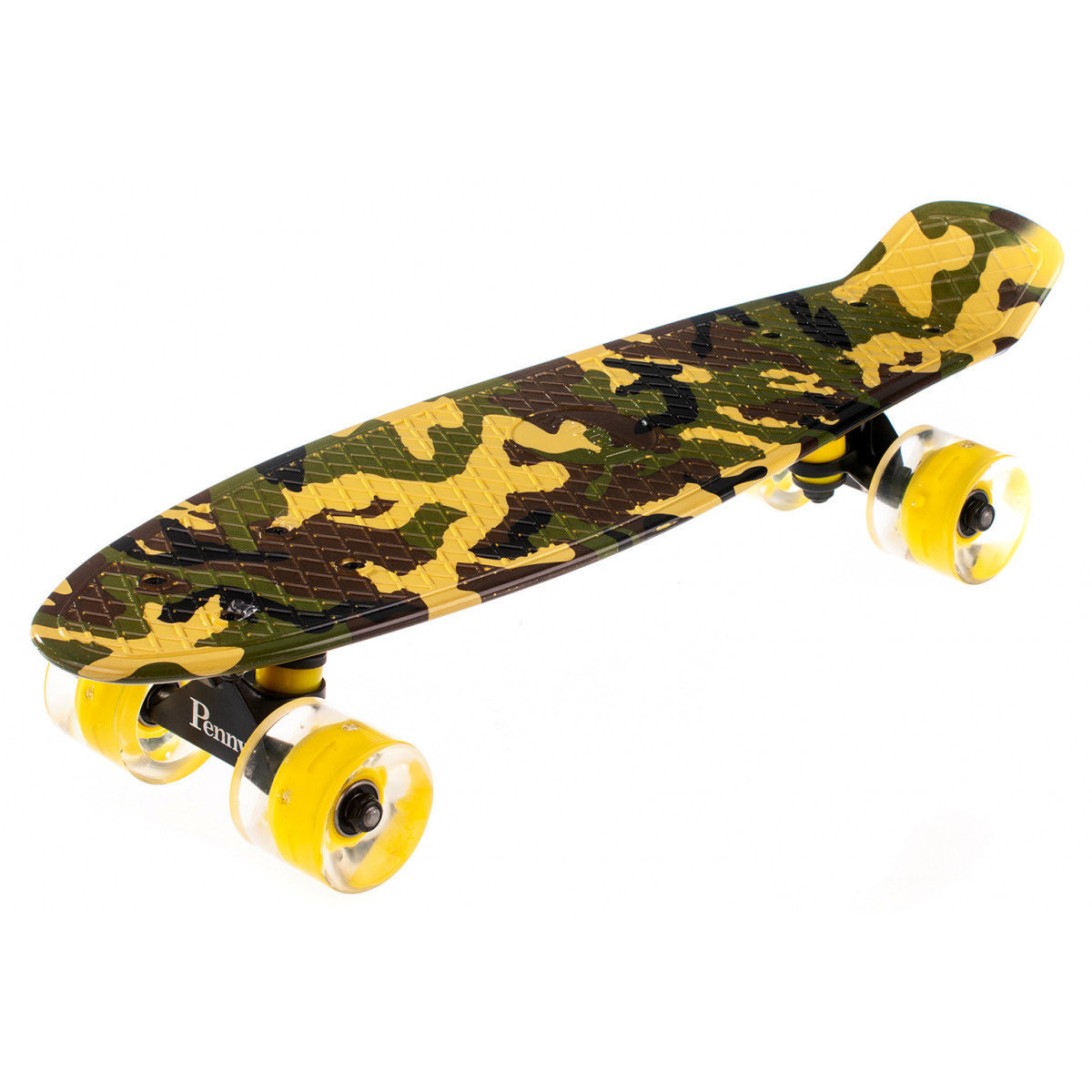 Скейт Пенні борд Penny Board Print Led 22 - Пенні борд Camo 2 (Камуфляж) 54 см
