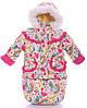Зимний детский костюм-тройка (конверт+курточка+полукомбинезон) Детские зимние комбинезоны Комбинезон для детей, фото 3