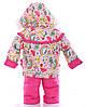 Зимний детский костюм-тройка (конверт+курточка+полукомбинезон) Детские зимние комбинезоны Комбинезон для детей, фото 5