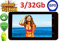 "Планшет Самсунг 7"" дюймов Android 10,1- 8дра+3Gb RAM+32Gb ROM+2Sim+Bluetooth+GPS+3G 4G андроид Samsung"