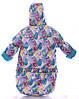 Зимний детский костюм-тройка (конверт+курточка+полукомбинезон) Детские зимние комбинезоны Комбинезон для детей, фото 4